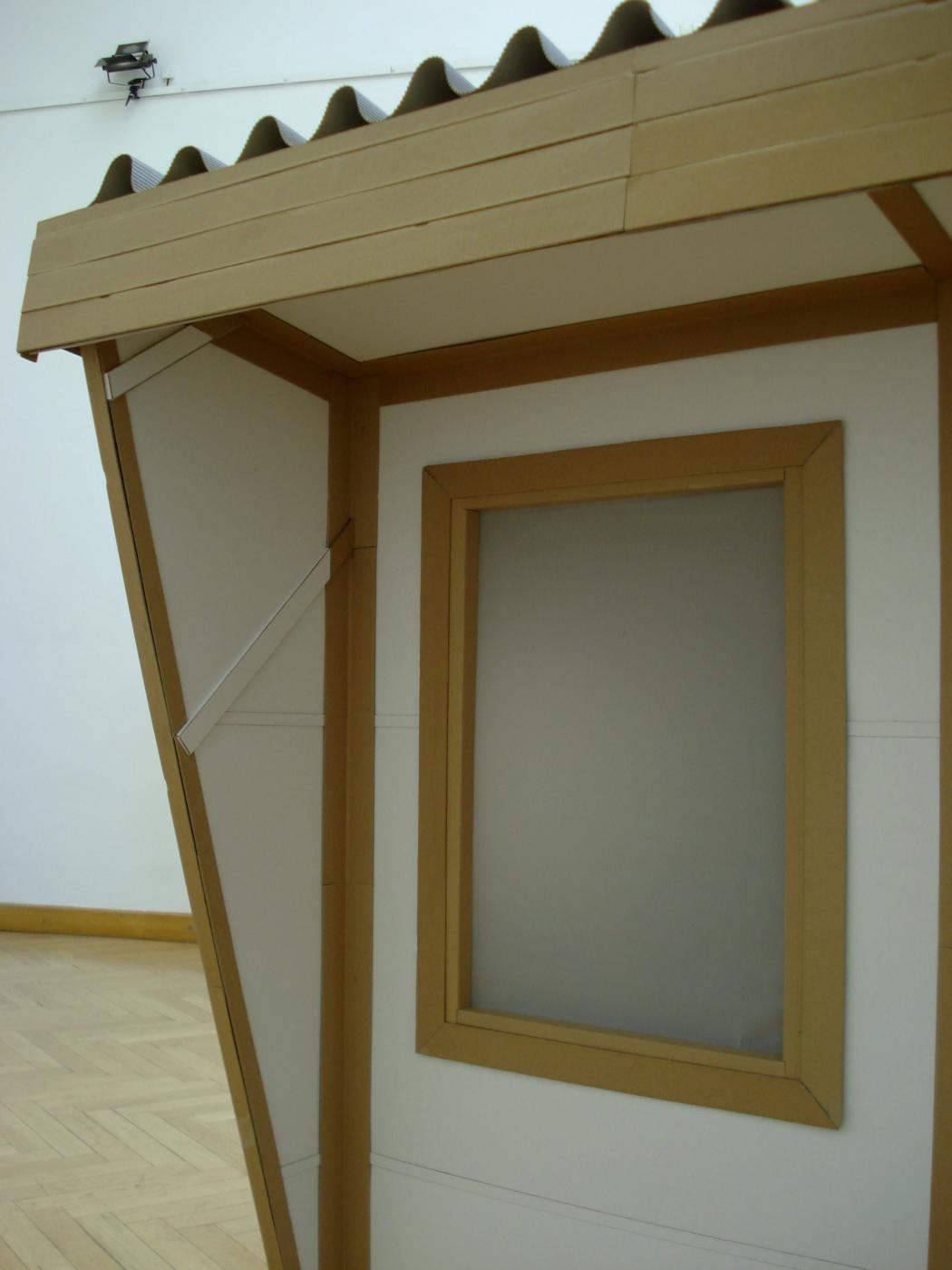 hut, fine art, cardboard, detail, fine art