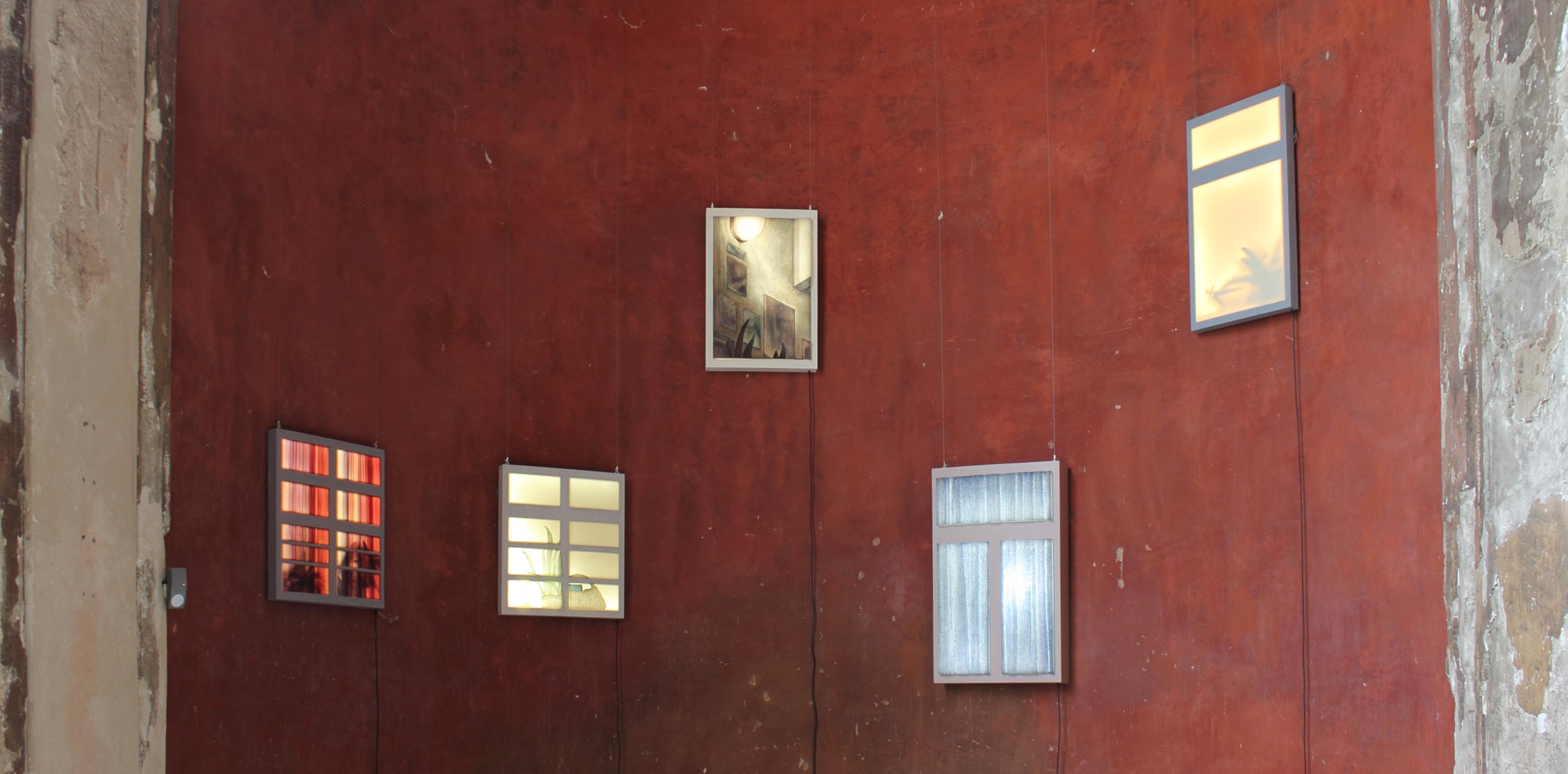 Fenster, Art, Light, Leuchten, Objekte, Leuchtobjekte, Licht