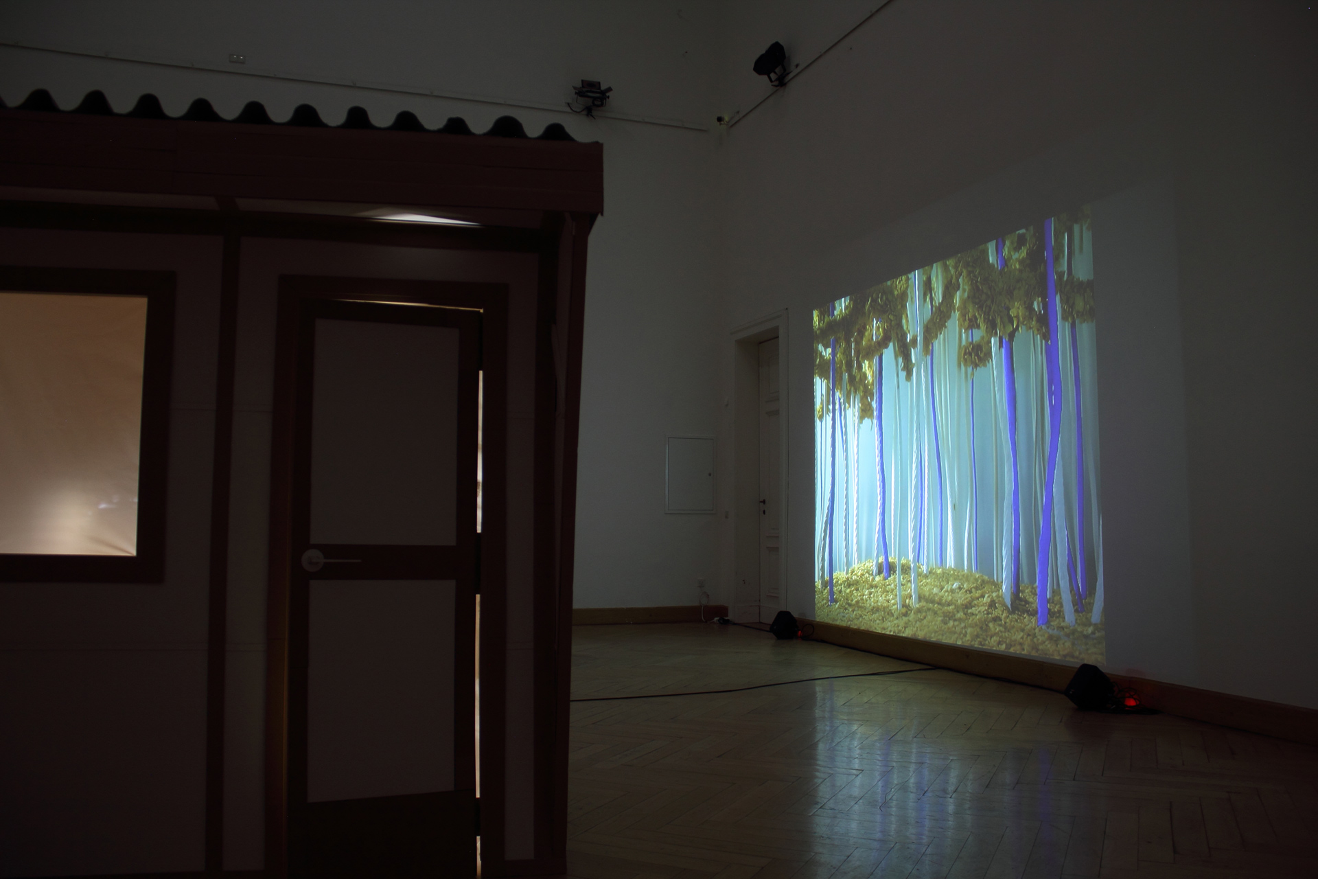 art, contemporary, exhibition view, video