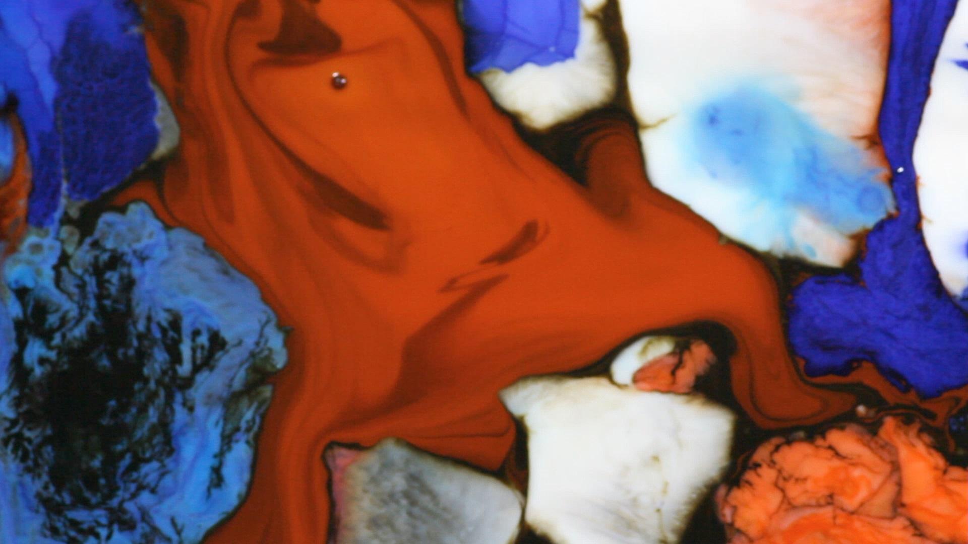 liquid painting, art, contemporary, food